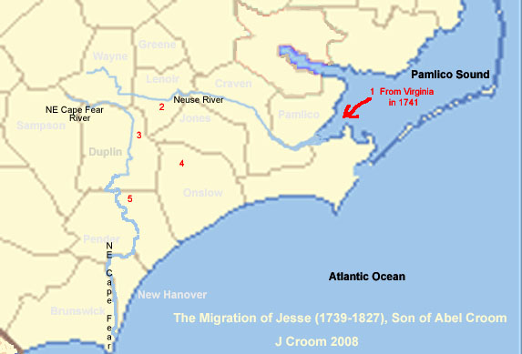 Travels Of Jesse Croom Son Of Abel