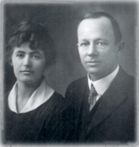 Claudius and Ruby Cullom Howard, 1918